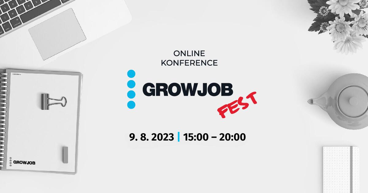 GrowJOB Fest | Online konference osobního rozvoje